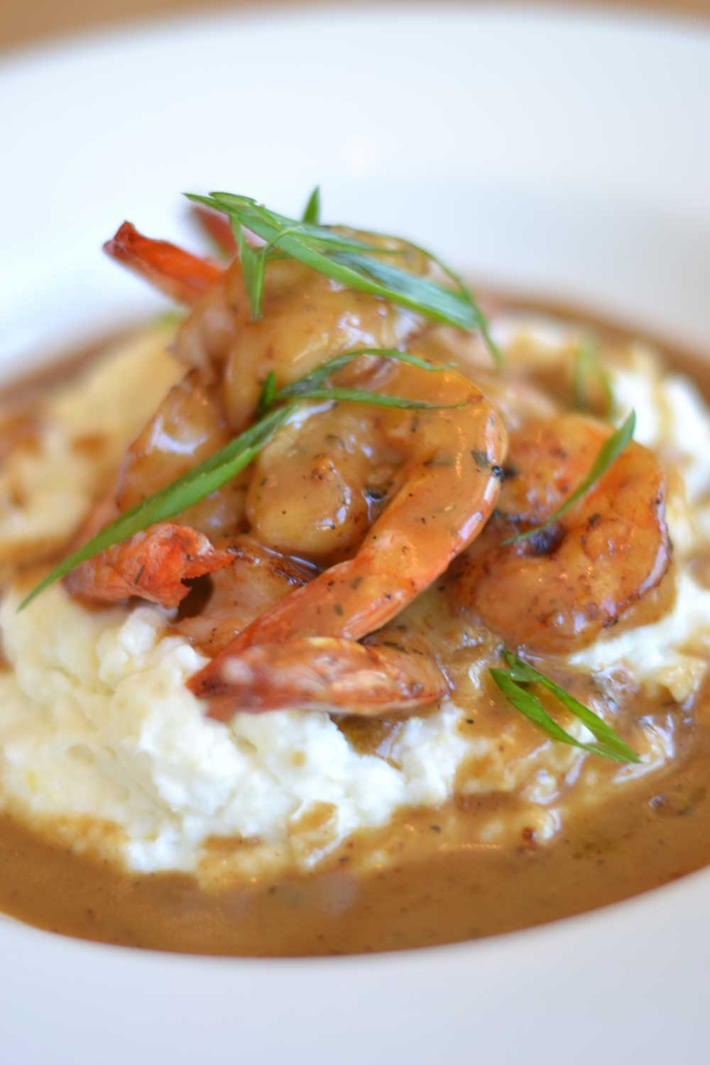 Ralph's on the Park BBQ Shrimp and Grits