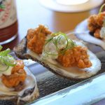 BBQ Oysters & Blue Cheese Dipping Sauce thumb