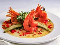 Shrimp and Tasso with Five Pepper Jelly thumb