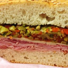 Homemade Muffaletta thumb