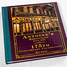 Antoine's 175th Anniversary Celebration Book thumb