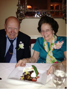 Celebrating a 75th Wedding Anniversary at Broussard's