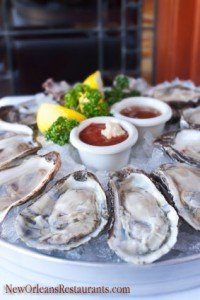 Platter of Oysters on the Half Shell