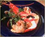 Lobster with Truffle Butter from Bacco Restaurant