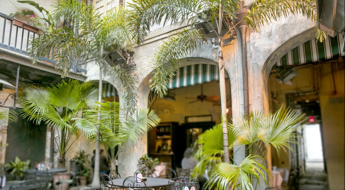 Fabulous Restaurants With French Quarter Courtyards