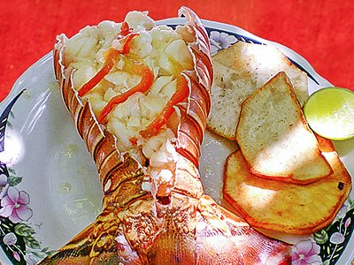 Lobster with Truffle Butter