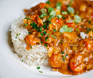 Crawfish Etouffee from New Orleans School of Cooking